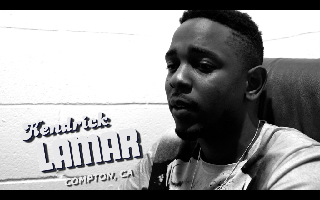 Kendrick Lamar appears in Sama'an Ashrawi's All Star Tribute to UGK